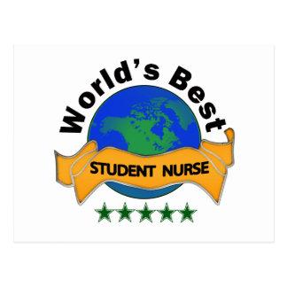World's Best Student Nurse Postcard