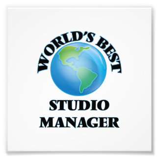 World's Best Studio Manager Photo