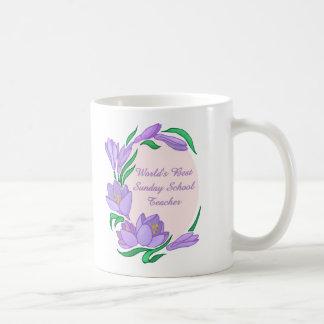 World's Best Sunday School Teacher Gifts Coffee Mug