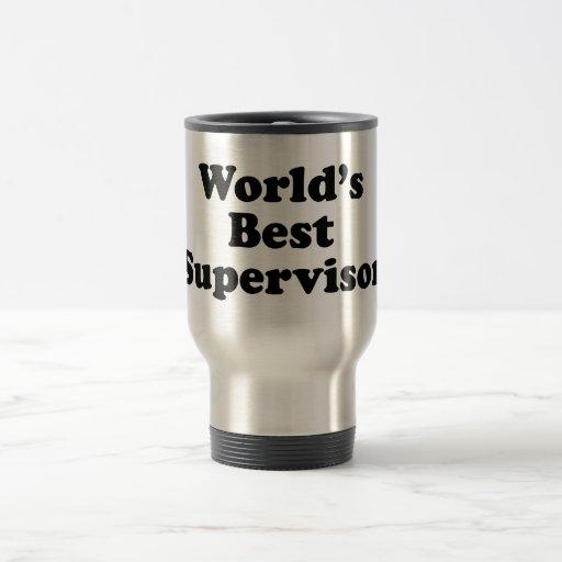 World's Best Supervisor Coffee Mugs