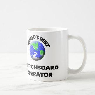 World's Best Switchboard Operator Basic White Mug