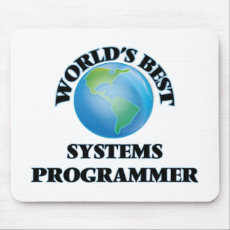 World's Best Systems Programmer Mouse Pad