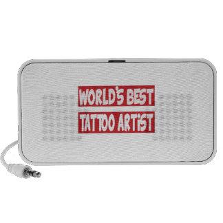 World's Best Tattoo artist. Mp3 Speakers