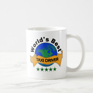 World's Best Taxi Driver Basic White Mug
