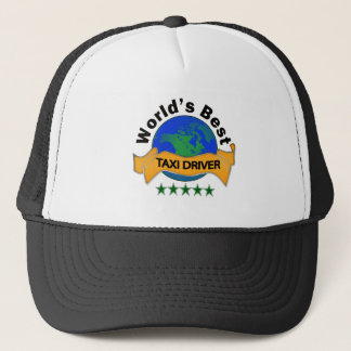 World's Best Taxi Driver Trucker Hat