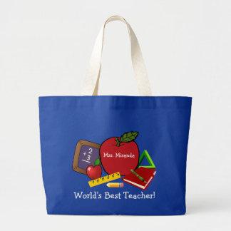 World's Best Teacher 2 Jumbo Tote Bag