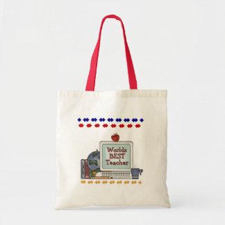 Worlds Best Teacher Bag