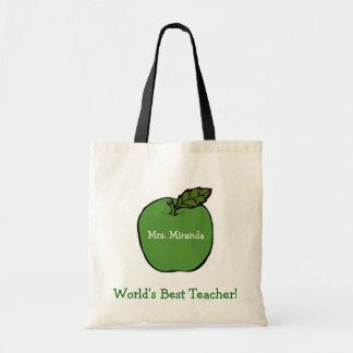 World's Best Teacher Canvas Bag