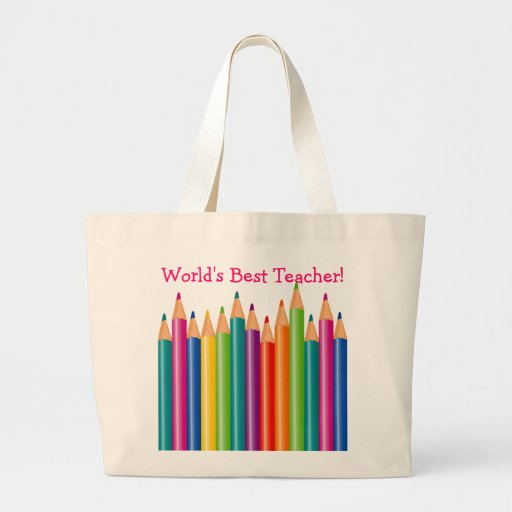 World's Best Teacher Tote Bags