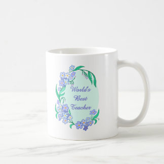 Worlds Best Teacher Coffee Mug