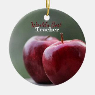 World's Best Teacher Keepsake Ornament