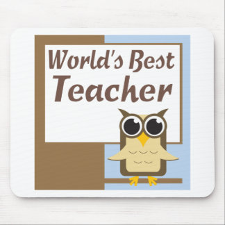 Worlds Best Teacher Mouse Mat