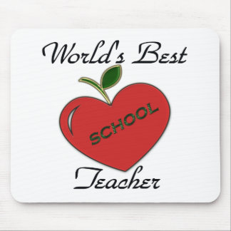 World's Best Teacher Mouse Mat