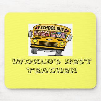 World's Best Teacher Mouse Pad