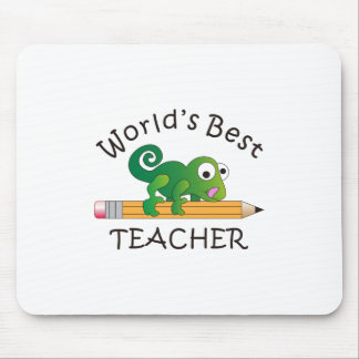WORLDS BEST TEACHER MOUSE PAD