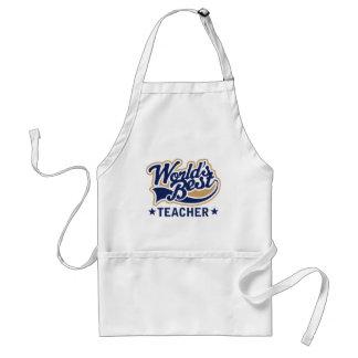 Worlds Best Teacher Standard Apron