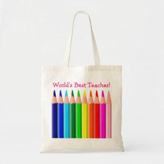 World's Best Teacher Bag