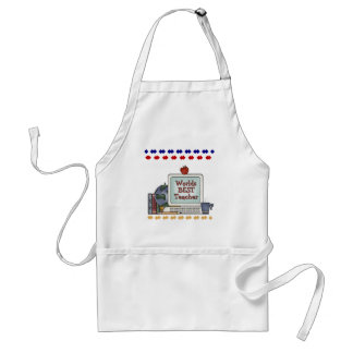 Worlds Best Teacher Tshirts and Gifts Adult Apron