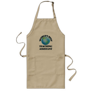 World's Best Teaching Assistant Long Apron