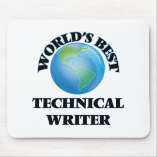 World's Best Technical Writer Mouse Pad