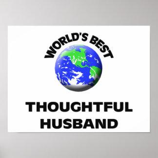 World's Best Thoughtful Husband Print