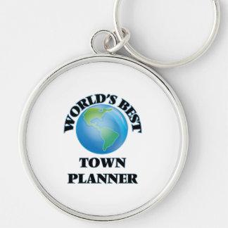 World's Best Town Planner Key Chains