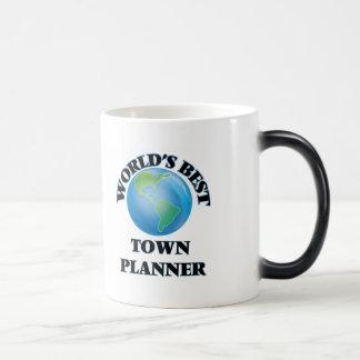 World's Best Town Planner Morphing Mug