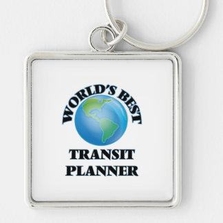 World's Best Transit Planner Key Chains