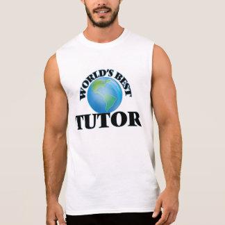 World's Best Tutor Sleeveless Shirt