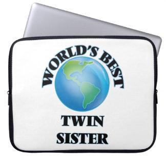 World's Best Twin Sister Laptop Sleeve