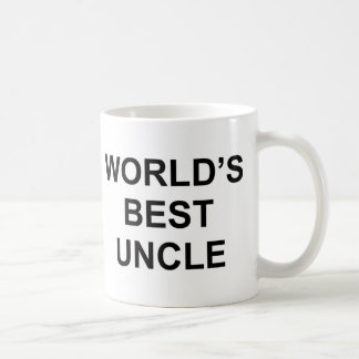 World's Best Uncle Basic White Mug