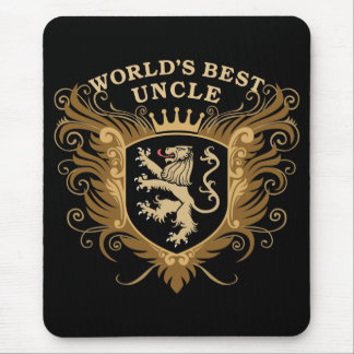 World's Best Uncle Mouse Pad