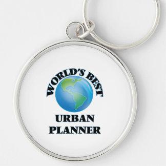 World's Best Urban Planner Key Chains