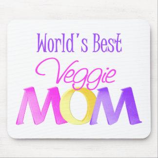 World's Best Veggie Mom Mousepad