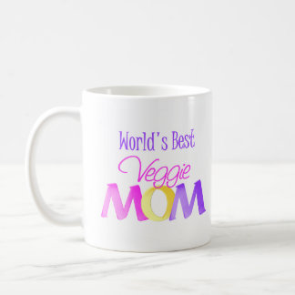 World's Best Veggie Mom Mug/Cup