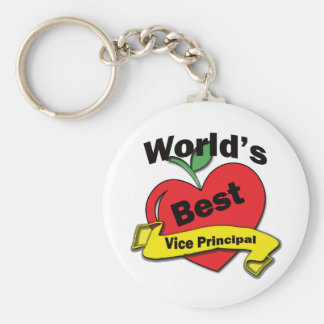 World's Best Vice Principal Key Ring