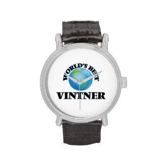 World's Best Vintner Wristwatch