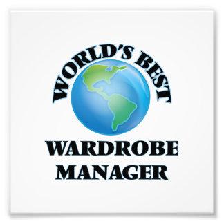 World's Best Wardrobe Manager Art Photo