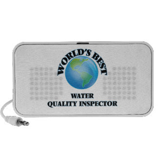 World's Best Water Quality Inspector Laptop Speakers