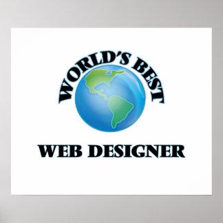 World's Best Web Designer Print
