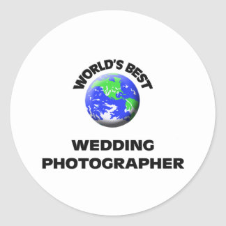 World's Best Wedding Photographer Stickers
