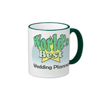 World's best Wedding Planner Ringer Mug