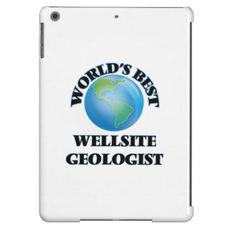 World's Best Wellsite Geologist iPad Air Covers