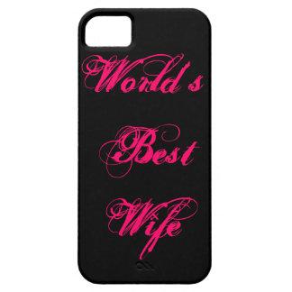 World's Best Wife iPhone 5 Case