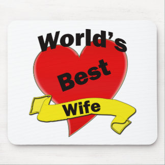 World's Best Wife Mouse Mat
