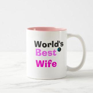 World's Best Wife Two-Tone Coffee Mug