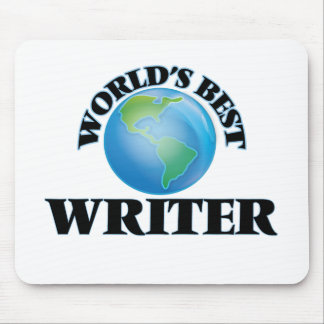 World's Best Writer Mouse Pads