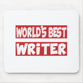 World's Best Writer. Mouse Pad