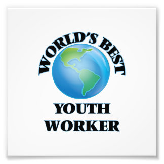 World's Best Youth Worker Photo