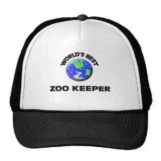 World's Best Zoo Keeper Cap